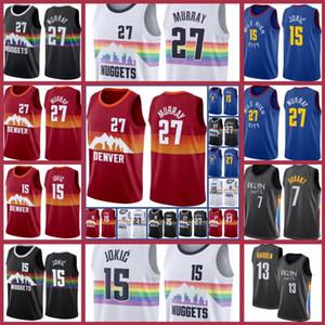 ChicagoBull23 Michael Jersey Basekball Scottie Pippen Dennis Rodman Jamal Nikola Murray DenverNuggetsJersey Jokic