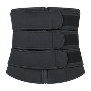 Premium Neoprene Waist & Tummy Shaper 3 Strapes Firm Control Sauna Sweat Bands For Fitness Yoga Corset Cincher Trimmer Waist Trainer DHL