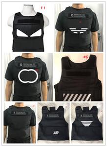 Ins Body Armor Tide Pattern Stampa Gilet Tactical Gilet da esterno Street Hip-hop Gilet protettivo per le donne Uomo Simulato Guerra Gioco di Guerra Vestiti