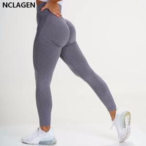 Leggings sin fisuras Deporte Mujer Fitness Push Up Pantalones de yoga High Cintura Squat PRUEBA APRÁS DE ENTRENAMIENTO CORRIENTE DE LA RESIDUOS DEPORTES DE LA RESIDUOS DEPORTES TIENDA NCLAGEN Y200529