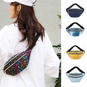 New Waterproof Waist Bags Ladies Fashion Bum Bag Travel Crossbody Chest Bags Unisex Hip Bag w-00602