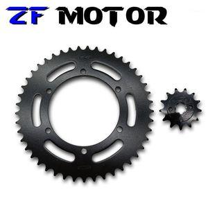 Аксессуары для мотоциклов Установите переднюю и заднюю цепь звездочки для FZR250 FZR 250 Small Ban1
