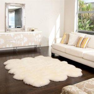 Thick Fur Rug Home Decor Shaggy Carpet Livingroom Wool Bedroom Fluffy Rug Sofa Cushion Coffee Table Floor Mat Kids Room Carpets1