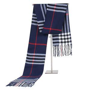 Scarf for men Warm student Korean plaid versatile couple scarf for winter long neckScarf for men Warm student Korean plaid versatile couple