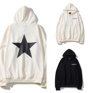 bTpkr NRG fundamentos AIR Medo de hoodies zipper de Deus mulheres TFOG Oversize Hop para mulheres dos homens Marca colaboração Designer T Shirt Hip Casual