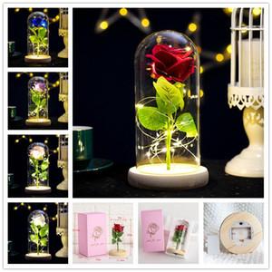 ارتفع يدوم إلى الأبد مع أضواء led في زجاج قبة عيد الحب الزفاف هدايا عيد ميلاد حزب الديكور 5 ألوان شحن مجاني