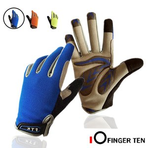 Kids Bike Gloves Full Finger Junior Sports Bicycle Cycling Touch Screen Grip 1 Pair Left and Right Hand Fit Age 2-11 Years Old 201026