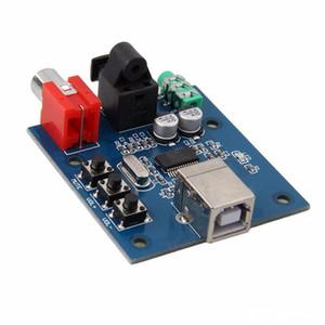 PCM2704 USB DAC à S / PDIF Carte audio Decoder Board 3.5mm Sortie analogique de 3,5 mm