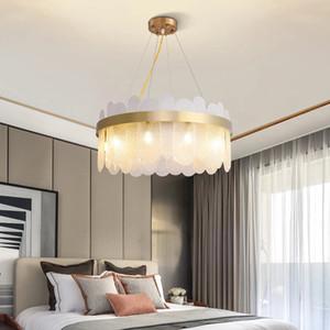 Luxe Moderne Kroonluchter VERLICHTING Voor woonkamer Ev Dekorasyonu Ronde Glazen Verlichtingsarmaturen Nieuwe Luxe Led Opknoping Lampen