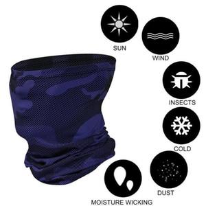 Motorrad-Biker-Halb-Gesichtsmaske Camoublag-Hals-Röhre Snood Balaclava Bandana-Schal-Schals Multifunktionale Außenstirnband