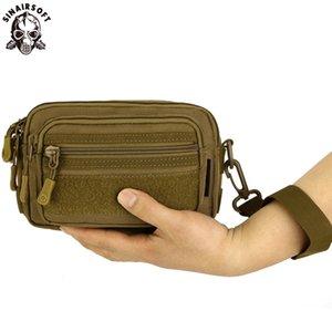 Borse SINAIRSOFT multiuso borsa degli uomini Tactical Molle Messenger Bag impermeabile Camo Climbing Viaggi Marsupio Sport