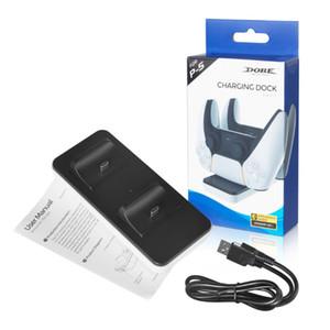 PS5 액세서리에 대한 PS5 충전기 독 듀얼 충전기를 충전 PS5 들어