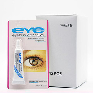 Eyelash Adhesive 9g 32oz Eye Lash Glue Makeup Adhesive Waterproof False Eyelashes Adhesives Glue with packing Practical Eyelash Glue