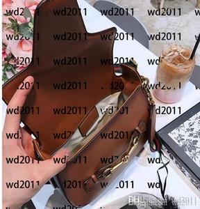 Venta de alta calidad Mujeres Crossbody Messenger Bolsos Bolsos de cuero de buena calidad Caja de bolsas de polvo de bolsas de montar de estilo clásico