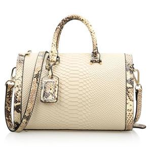 Nesitu de Split Rouge Noir Blanc en cuir de luxe Sacs à main femmes Sacs Designer Messenger Bag Sac à bandoulière Bureau Totes # M0497