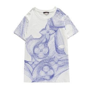 20ss Drew House SS20 New Arrival Top Quality Clothing Men's T-Shirts Print Tees Short Sleeve S-XL 803