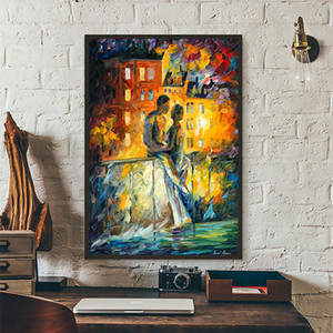 Leonid Afremov Painting Poster and Print Canvas Wall Art Picture Nordic Style Painting Modern Home Living Room Decoration
