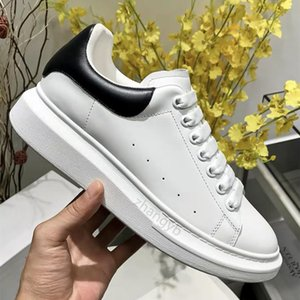 2021 Top Quality Hommes Femmes Cuir Casual Chaussures Casual Dentelle Confort Jolies Chaussures Homme Formateurs Daily Lifestyle Skateboarding Chaussures 35-45