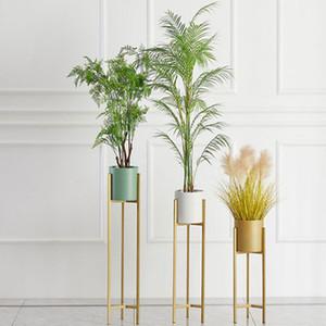 가구 꽃 선반 실내 빛 럭셔리 꽃 냄비 바닥 - 서 서 홈 거실 장식 Rackliving 룸 가구 꽃 냄비 스탠드