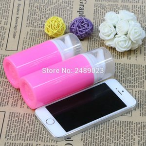 50ml 80ml Rose Red Airless Pump Bottles White Head Plastic Vacuum Packing Bottle Travel Lotion Cosmetic Containers 100 pcs lot