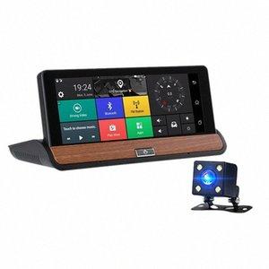 Dual Lens Center Console Navigator HD Notte elettronico Cane da 7 pollici che guida il registratore Modello Bluetooth: 681 Con retromarcia Photogr Dvr 224b #