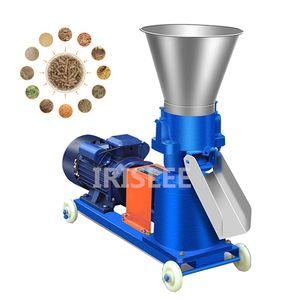 Novo Tipo KL-125 Granulador de Alimentação Alta Eficiência Animal Animal Alimentar Alimentos Fazendo Máquina 220V / 380V Opcional 60kg / H-150KG / H