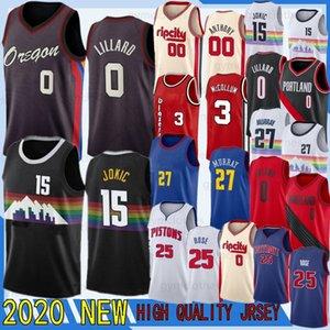 Damian Lillard CJ McCollum Nikola Jokic Derrick Rose Murray Anthony Portland Trail Blazers Detroit Pistons Denver Nuggets