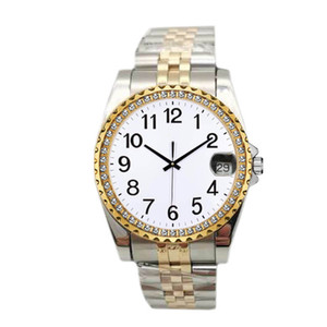 Горячие продажи Роскошные часы Пары Стиль Классический кварцевый Мода Алмазный конструктор Часы Мужские Мужские Женские женщин Часы Часы наручные