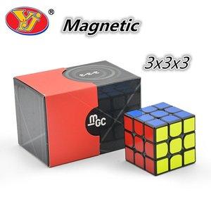 Yongjun MGC Magnetic 3x3x3 Magic Cube 3x3 Quebra-cabeça Cubo YJ Cubo Magique Competição Cubos Y200428