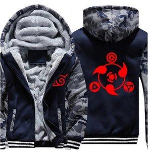 Naruto Hoodies & Sweatshirts Anime Ootutuki Hagoromo Uzumaki Naruto Hooded Coat Zipper hoodie Warm Sweatshirt Coat Casual Hoodies US EU Size