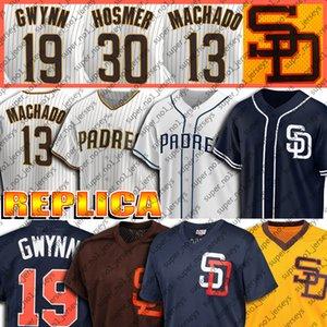 23 Fernando Tatis Jr.1 3 Manny Machado Jersey 19 Tony Gwynn Jerseys Trevor Hoffman Jersey Wil Myers Custom Baseball Jerseys Eric Hosmer