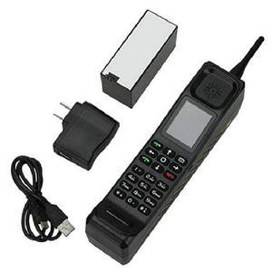 Nouveau Big Brother Téléphone Mobile Classic Vieux Vintage Rétro Brique Téléphone portable Téléphone mobile Tri-Band Dual Sim Dual StandbyBlack