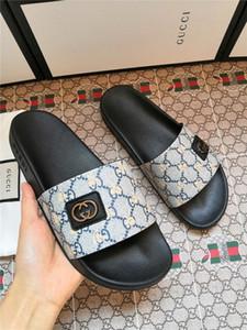 Frauen Sliders Mens-Sommer-Sandelholz-Strand-Hausschuhe Damen Flip Flops Loafers Schwarz Ourdoor Startseite Slides Chaussures Schuhe mit Kasten asual Schuhe