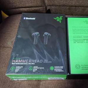 2020 Razer Hammerhead VERDADEROS Auriculares inalámbricos TWS Bluetooth 5.0 IPX4 Auriculares en la oreja Micrófono incorporado Micrófono de encendido / apagado Interruptor Auriculares Auriculares