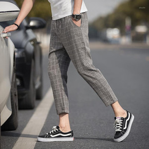 Left ROM 2019 Ankle-Length-Line Calças Manta Calças Homens Calças Hip Hop Jogger Calças Homens Sweetpants Streetwear S-5XL1