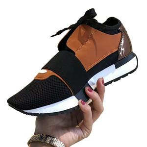 Mode Luxuxmann Designer-Trainer-Schuhe Spitzbreathable Ineinander greifen Schuhe Art und Weise beiläufige Schuh-Turnschuh-Tennis Laufen Jogging Size5-11 Typ2