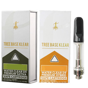 Ağaç Bankası Klear Vape Kartuşları 0.8 ml Seramik Bobin Cam Tankı E Sigaralar Boş Vape Kalem Kartuş Ambalaj 510 DAB Kalem Atomizers Buhar