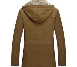 Winter Jacket Men Parka Coats Fleece Military Mens Hooded Jacket Windbreaker Jacket Coat Warm Thicken Male Overcoat Outwear 5XL11