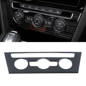 Car Accessories Center A C Knob Control Panel Cover Trim Sticker Frame Interior Decoration for VW Volkswagen Arteon 2017-2020