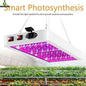LED Crescer Light 1000W 2000W Phytolaamp 2835 LEDs Chip Phyto Crescimento Lâmpada 85-265V Planta de espectro completo Iluminação para planta interior
