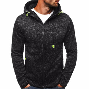 Winter Hoodie Male Cardigan 2020 New Long sleeve hoodies men Zipper Sweatshirt Hoodies Mens Hooded Plus size Coat Jacket 30