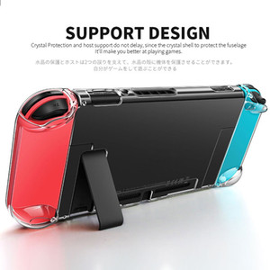 Ultra Thin Transparent PC Protection Hard Cover Case Transparent Crystal Shell Console Controller Accessories For Nintend Switch