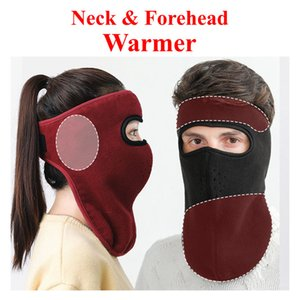 Nuovo progettista Full Face Mask paraorecchie paracollo Rilancio esterno di inverno Cyling Biker sci Moto Rider Mask addensare Head Cover Warmer