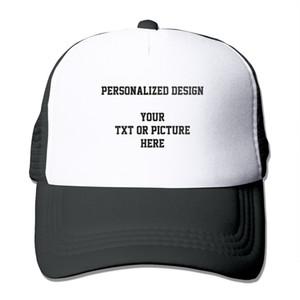 Personalized Caps Custom Design Unisex Mesh Caps Adult Personalized Baseball Cap Mesh Tucker Sport Camping Hiking Hats
