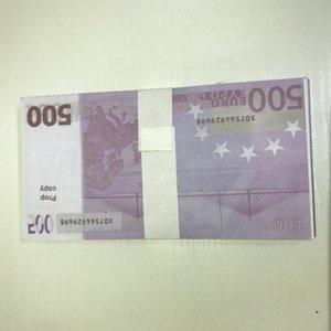 New Billet Gift Banknote Dollar Pound Ticket Efsiu Toy LE500-31 Prop Counterfeit 500 Paper Euro Magic Children Props Faux Gxdiq