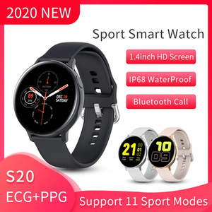 Luxury Smart Watch Mens Women S20 Heart Rate ECG PPG Smart Watch Android IOS Smartwatch Ip68 Designer Waterproof Sports Watches With Box