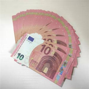 Hot falso Prop Paper Money 10 20 50 100 200 500 di euro 20 100 Nuovo 100 Dollari 50 libbre Bills prezzi Bank Note