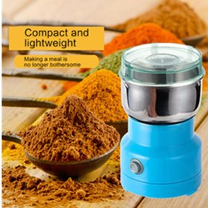 Mini Electric Chopper Processor Mixer Blender Pepper Garlic Seasoning Coffee Grinder Extreme Speed Grinding Kitchen Tools