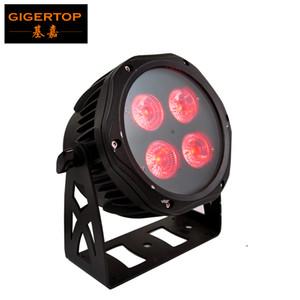 جيجيرتوب جديد مصغرة 4 × 18 واط rgbwa uv 6in1 لون ماء led par light ip65 في الهواء الطلق تصميم dmx التحكم المرحلة الإضاءة