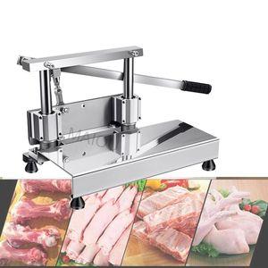 2020 Manual de pollo Chop Chop Nueva Bone Bone Machine Máquina de corte Bone Saw costillas para la venta
